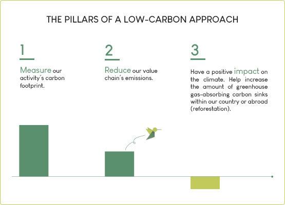 Pillars low carbon